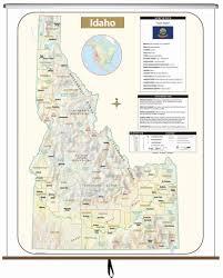 Idaho On Map Products U2013 Kappa Map Group
