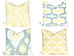 yellow decorative pillows – housetohome