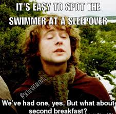 Competitive Swimming Memes - in most cases it s more like fourth breakfast random swimming