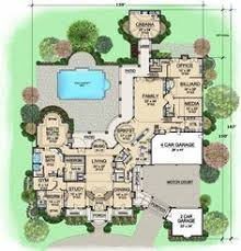 monster home plans country style house plans 6610 square foot home 1 story 4