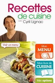 recettes cuisine pdf recettes de cuisines avec cyril lignac le test