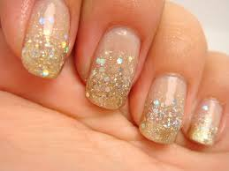 gold glitter gradient prom nails cyexquisite youtube