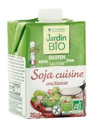 soja cuisine recettes l onctueux soja cuisine sans gluten sans lactose jardin bio