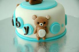 teddy bear baby shower mini cake u0026 cupcakes cakecentral com