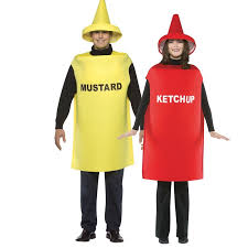 Mayonnaise Halloween Costume Buy Ketchup U0026 Mustard Couples Costume Adults