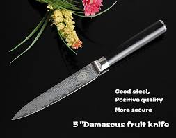 high quality japanese damascus steel kitchen knives sharp 5 inch