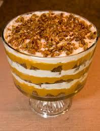 pumpkin gingerbread trifle three meals a day