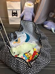 Kids Jungle Rug by Aliexpress Com Buy Kids Baby Play Mats Toys Storage Bag Round