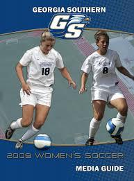 2009 georgia southern women u0027s soccer media guide by georgia