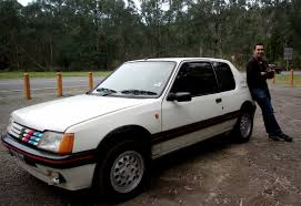 peugeot 205 group b peugeot 205 gti a scenic drive to a dead end