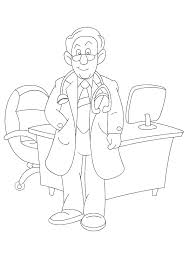 coloring pages of people coloring pages and printable pages of people and jobs color doctor