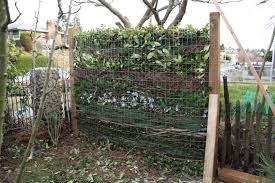 composting fence frees us of our u0027view u0027 sustainable scientist
