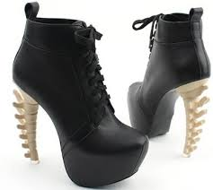 womens boots unique unique womens high bone looks heels platform toe boots