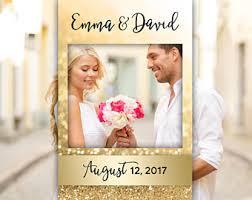 personalized wedding photo frame wedding photo frame etsy