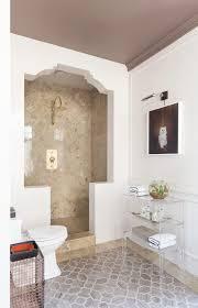 Drywall Design Ideas Ceramic Tile Corner Shampoo Shelf Ideas Bathroom Midcentury With