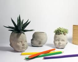 head planter etsy