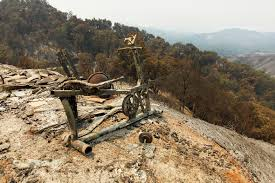 California Wildfires Colorado by Firefighters Battle Wildfires Raging Along California U0027s Big Sur Coast