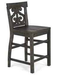 counter height desk chair magnussen home bellamy traditional counter height desk chair