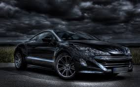 peugeot rcz black peugeot rcz wallpapers lyhyxx com
