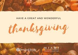 Happy Thanksgiving Family Wishing You And Your Family A Happy Thanksgiving 2017 Miami