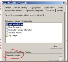 working with active directory certificate service via c