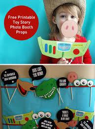 toy story photo booth props free printable pdf photo booth