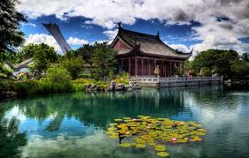 a chinese garden the rhythm of nature refreshing the heart the