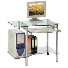 mini bureau informatique bureau informatique verre achat vente pas cher cdiscount