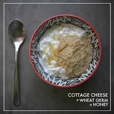 How Much Fiber In Cottage Cheese by Cottage Cheese Wheat Germ Honey Shutterbean