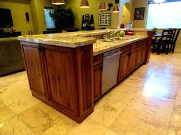 kitchen island with sink and seating sinks kitchen island with sink and dishwasher dimensions kitchen