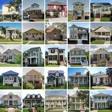 what are the different styles of residential architecture 14 to 1 post katrina architecture by the numbers