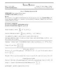 linear systems applications of determinants higher ed worksheet