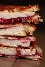 the ultimate thanksgiving leftover grilled cheese sandwich or