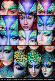 Halloween Makeup Mermaid Mythical Mermaid Fairy Creature Makeup Transformation U2013 Glam