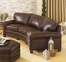 Leather Conversation Sofa 393 Leather Conversation Sofa Amish Oak Furniture