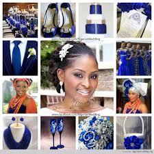 colour themes for nigerian wedding nigerian wedding cobalt blue white and silver wedding color scheme