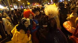 halloween street background only in los angeles west hollywood halloween parade santa