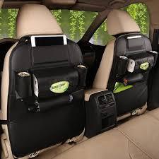 nouveau siege auto nouveau siège auto en cuir de sac de rangement multi pocket porte