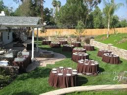 Backyard Weddings San Diego San Diego Dj El Cajon Wedding Dj