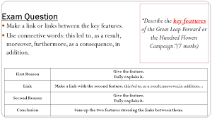 lesson 3a u2013 great leap forward essential question what were the