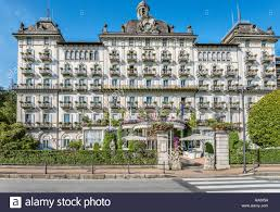 grand hotel des iles borromees at the waterfront of stresa at lago