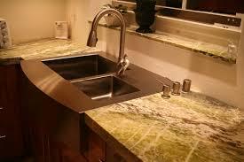 kitchen sink and counter julien counter depth flush mount apron sink alternatives