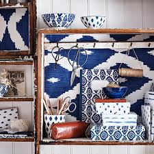 sainsbury u0027s moroccan blue homeware collection ideal home