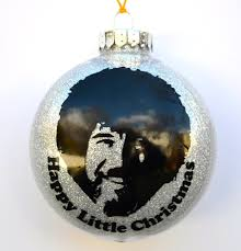 bob ross merry christmas ornaments happy little trees funny