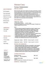 system administrator resume sample pdf system administrator