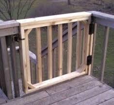 wood dog gate foter