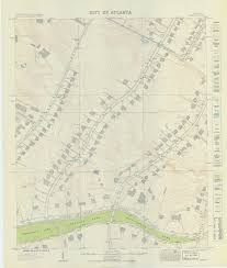 City Of Atlanta Map by Map Collection