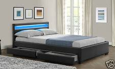 king size bed with memory foam mattress ebay