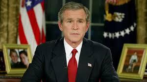 George W Bush Birth President Bush Announces Start Of Iraq War Youtube