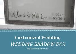 Customized Wedding Gift Customized Wedding Shadow Box Creative Unravelings